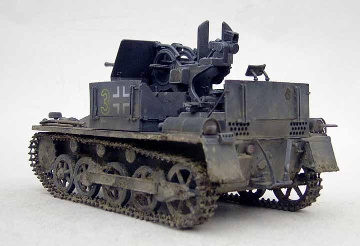 Pre Order Built Dragon 1:35 German Flakpanzer I 20mm  PE | eBay